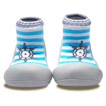 Attipas襪型學步鞋[真品平輸]-海錨水手