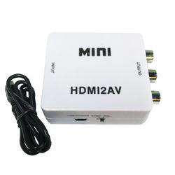 K-Line HDMI轉RCA影音轉換器(白)