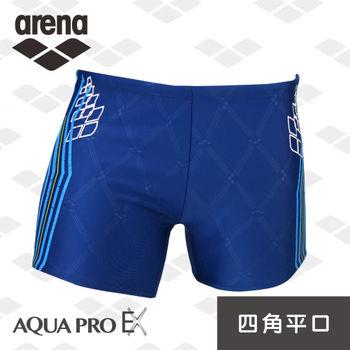 arena 訓練款AquaProEx系列 男士平口四角泳褲 TMS5161MA