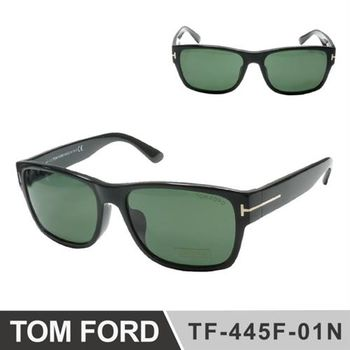【TOM FORD太陽眼鏡】中性款經典T字設計圖案(TOM445-01N)