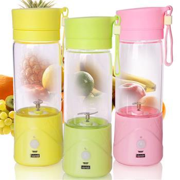 健康蔬果電動榨汁瓶/隨手瓶(充電式)