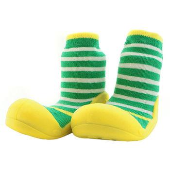 Attipas襪型學步鞋[真品平輸]-草地派對