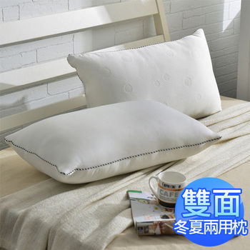 AmoreCasa 台灣製造 樂活冬夏兩用枕2入