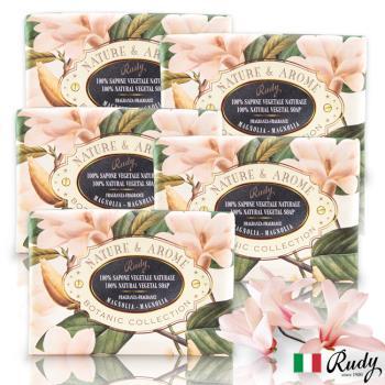 【義大利Rudy Profumi】米蘭古典木蘭花保濕香皂150g(買三送二超值組)