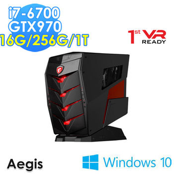 MSI 微星 Aegis-012TW i7-6700 獨顯GTX970 Win10 電競桌上型電腦