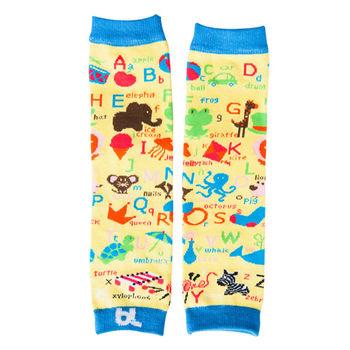 美國Baby Leggings寶寶時尚手襪套- 動物字母