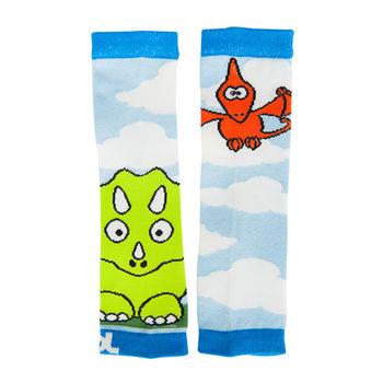 美國Baby Leggings寶寶時尚手襪套-噴火恐龍