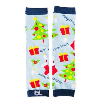 美國Baby Leggings寶寶時尚手襪套-歡樂聖誕樹
