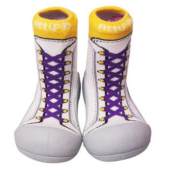 Attipas襪型學步鞋[真品平輸]-復古高筒-紫