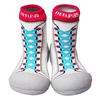 Attipas襪型學步鞋[真品平輸]-復古高筒-藍