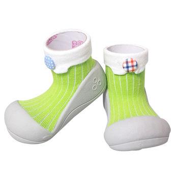 Attipas襪型學步鞋[真品平輸]-草原鈕釦