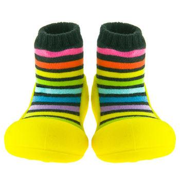 Attipas襪型學步鞋[真品平輸]-香蕉彩虹