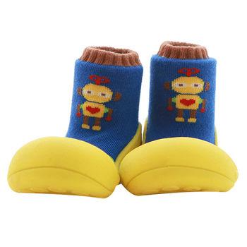 Attipas襪型學步鞋[真品平輸]-發條機器人