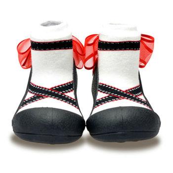 Attipas襪型學步鞋[真品平輸]-黑色芭蕾
