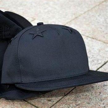 【米蘭精品】鴨舌帽棒球帽純色大星星正韓遮陽帽子56g59