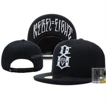 【米蘭精品】鴨舌帽素色棒球帽鑽石刺繡字母遮陽帽子56g63