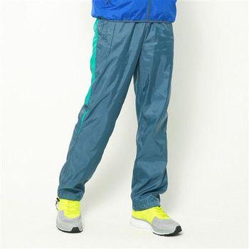 【美國 AIRWALK】休閒條紋撞色簡約風衣長褲 -男 -深藍