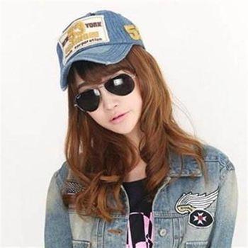 【米蘭精品】棒球帽運動帽韓版時尚刺繡遮陽防曬女帽子71k17