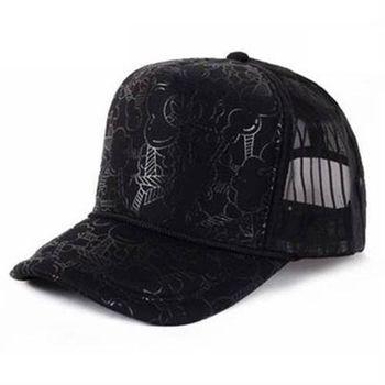 【米蘭精品】網帽棒球帽卡通字母正韓遮陽帽子56g42