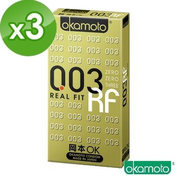 【岡本okamoto】003 RF 極薄貼身 (6片裝/盒)x3盒