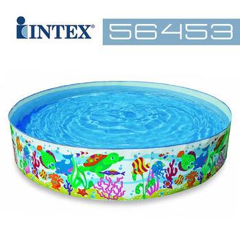 【INTEX】小黃魚免充氣水池 56453