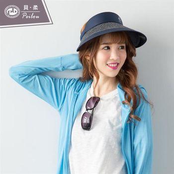 【好棉嚴選】晴空藍-PEILOU貝柔日本機能水潤白輕質高透氣抗UV防曬外套-