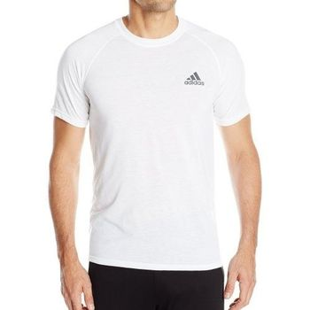 【Adidas】2016男時尚透氣極限白色短袖圓領ㄒ恤(預購)