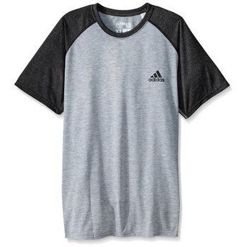【Adidas】2016男時尚透氣極限黑灰色短袖圓領ㄒ恤(預購)