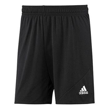 【Adidas】2016男時尚Striker黑色休閒齊膝短褲(預購)