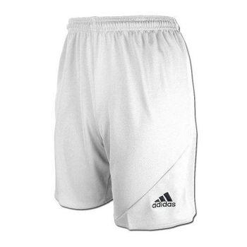【Adidas】2016男時尚Striker白色休閒齊膝短褲(預購)