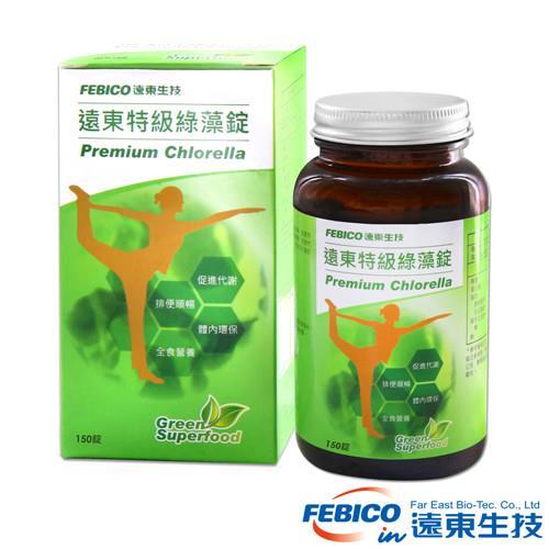 遠東生技 特級綠藻500mg*150錠