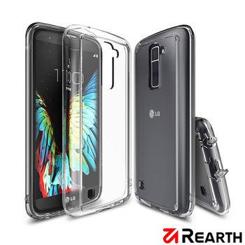 Rearth LG K10 (Ringke Fusion) 高質感保護殼(透明) -送保護貼