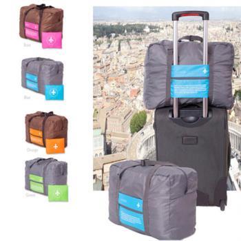 可折疊大容量旅行拉桿收納包