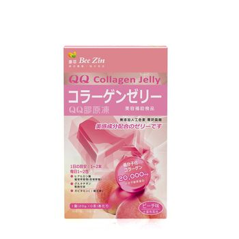 【BeeZin康萃】QQ水蜜桃膠原凍x1盒