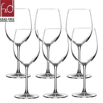 土耳其Pasabahce無鉛水晶波爾多高腳紅酒杯580cc-六入組