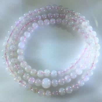 【藝森珠寶】緬甸天然翡翠A貨 高冰種108顆念珠 D889