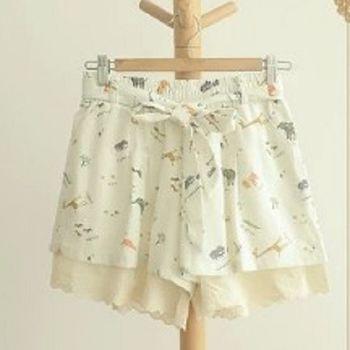 [協賀]蕾絲邊短褲
