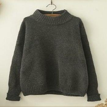 [協賀]半高領毛衣