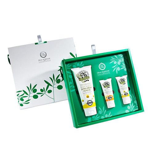 (即期品)自然之丘-橄欖油身體保養組B組(中禮盒)