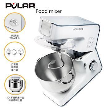 【POLAR】750W抬頭式攪拌機 PL-2080