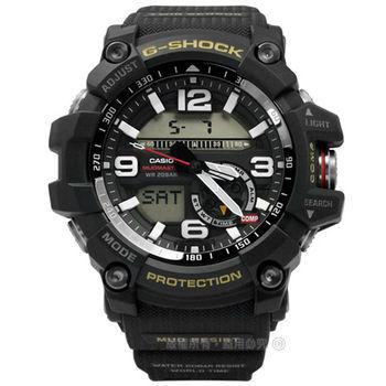 G-SHOCK CASIO / GG-1000-1A / 卡西歐極限的險峻顛簸運動電子橡膠手錶 黑色 52mm