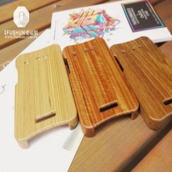 「iFUSHUN」 HTC Butterfly 蝴蝶機原木手機殼
