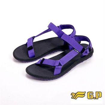 【G.P】時尚休閒涼鞋女鞋-紫(另有淺藍)