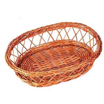 御膳坊橢圓竹編麵包籃