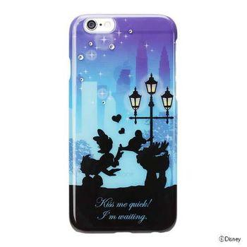 iJacket 迪士尼 iPhone 6/6s 4.7吋 手機殼+化妝鏡 剪影系列 豪華套裝組 - 唐老鴨黛絲