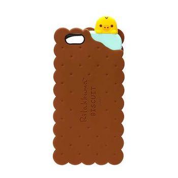 iJacket San-x iPhone 6/6s 4.7吋 夾心餅乾系列 立體造型矽膠 軟式保護殼 - 餅乾小雞