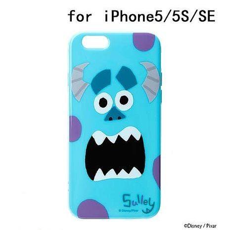 iJacket 迪士尼 iPhone SE/5/5s 大臉系列 軟式保護殼 - 毛怪