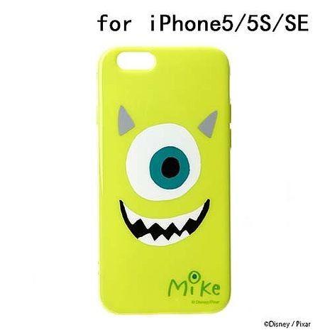 iJacket 迪士尼 iPhone SE/5/5s 大臉系列 軟式保護殼 - 大眼仔