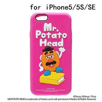 iJacket 迪士尼 iPhone SE/5/5s Q版系列 立體軟式保護殼 - 蛋頭先生