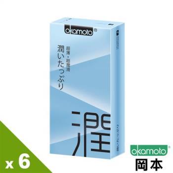 【岡本OK】City-Ultra Smooth極潤超薄保險套(10入X 6盒)